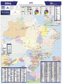 Mapa Brasil de GTD - Nov/2014