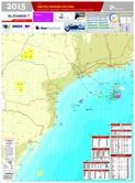 Mapa de Santos - Jun/2015