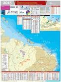 Mapa do Nordeste - Mar/2015