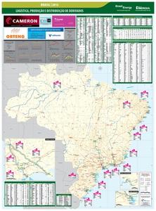 Mapa Brasil Downstream