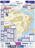 Mapa Brasil de O&G - Fev/2014