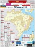 Mapa Brasil de O&G - Abr/2015